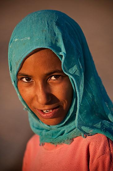 Beduin pige