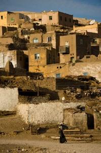 Egyptisk landsby