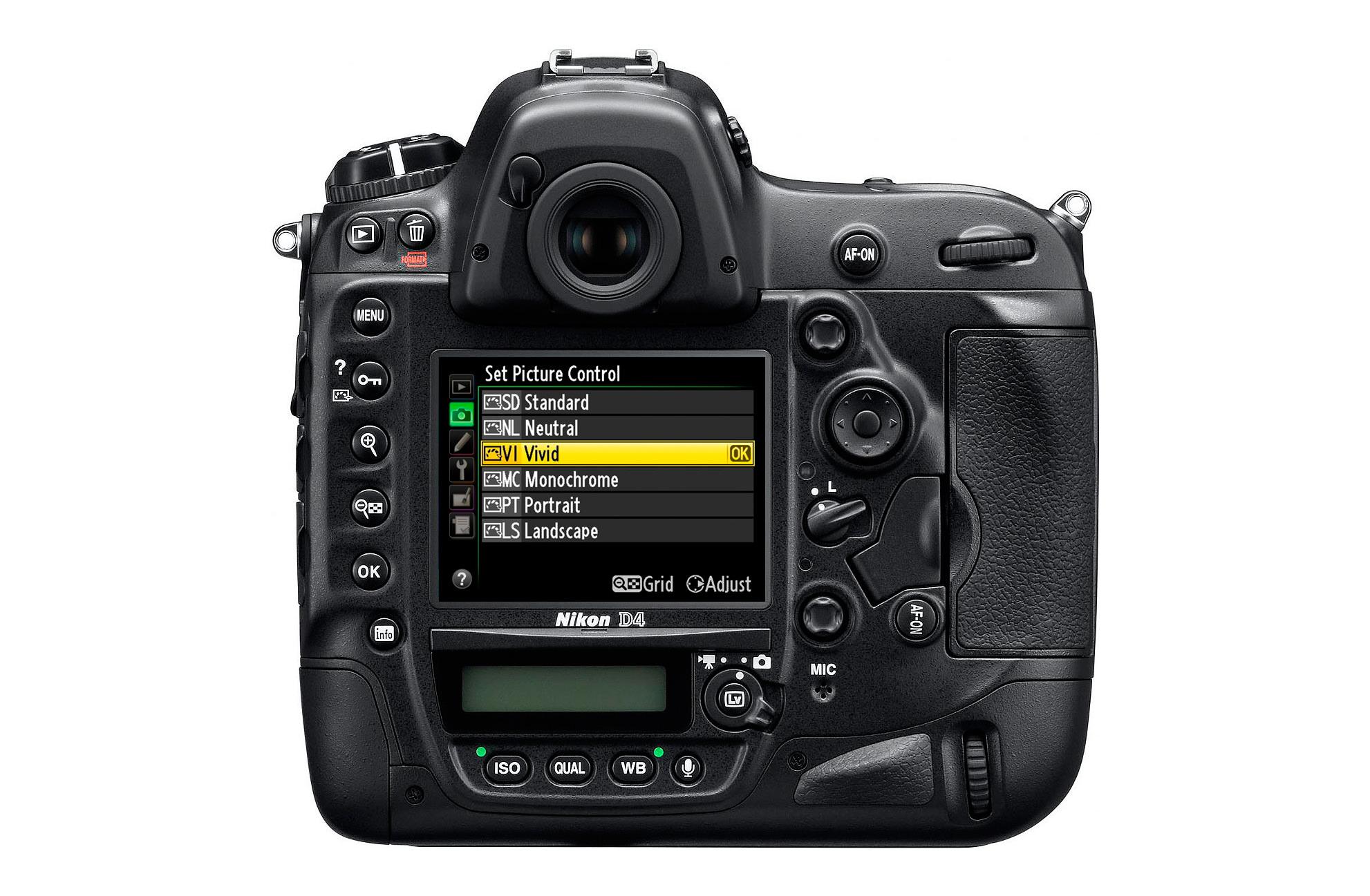 Nikon-D4---back---Picture-control
