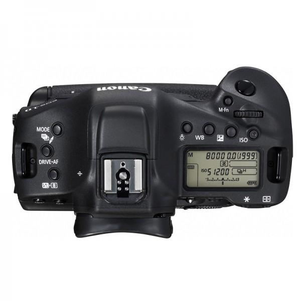 Canon EOS-1DX Mark II - top