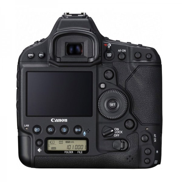 Canon EOS-1DX Mark II - bagside