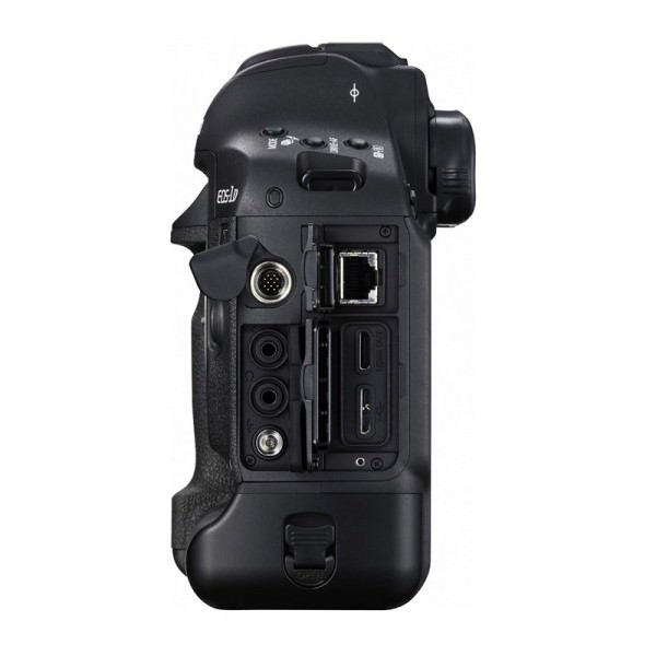 Canon EOS-1DX Mark II - side stik