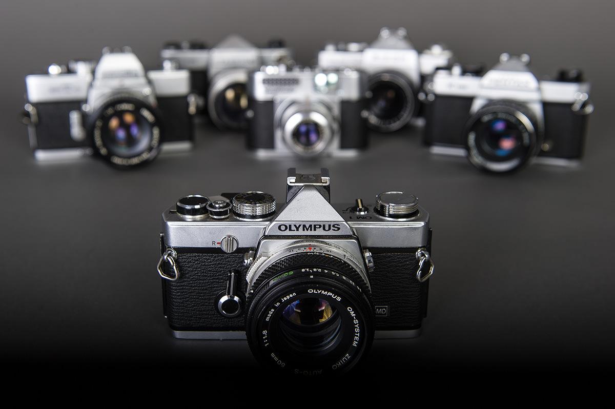 Stadig flere gamle kameraer slutter sig til samlingen. Jeg kan ikke lade være...