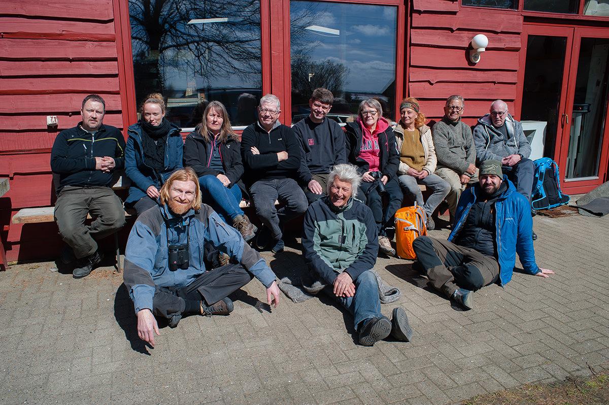 Workshop i kreativt naturfoto på Kirsten Kjærs Museum i Thy april 2017.