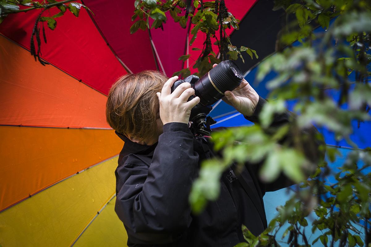 En fotoworkshop ude af fokus