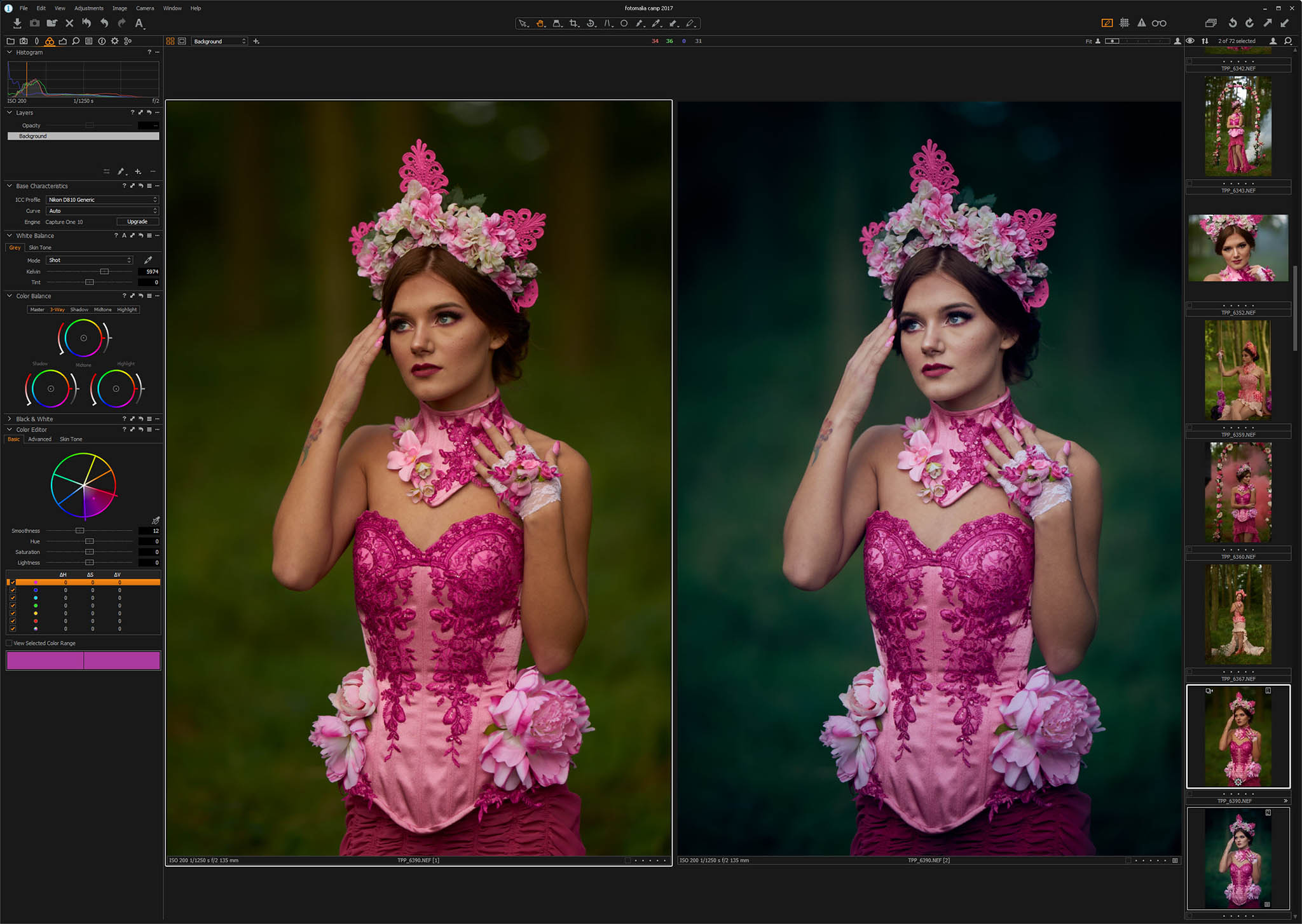 Capture One – Intro – Workshop