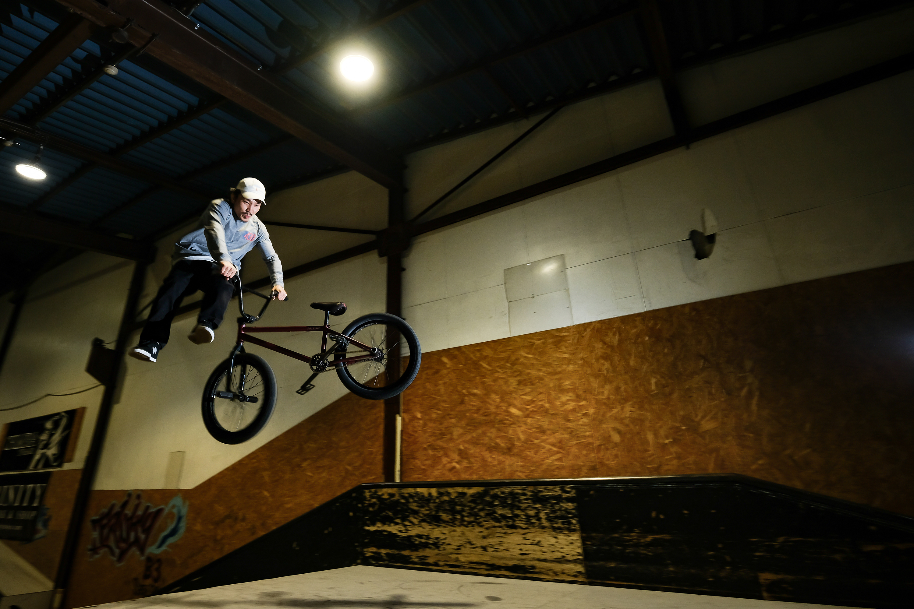Fuji X-H1 - Sample Image - Indoor BMX