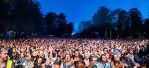 Publikum til Smukfest 2019